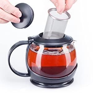 bobuCuisine Tea Pot Globe with Cozy Warmer
