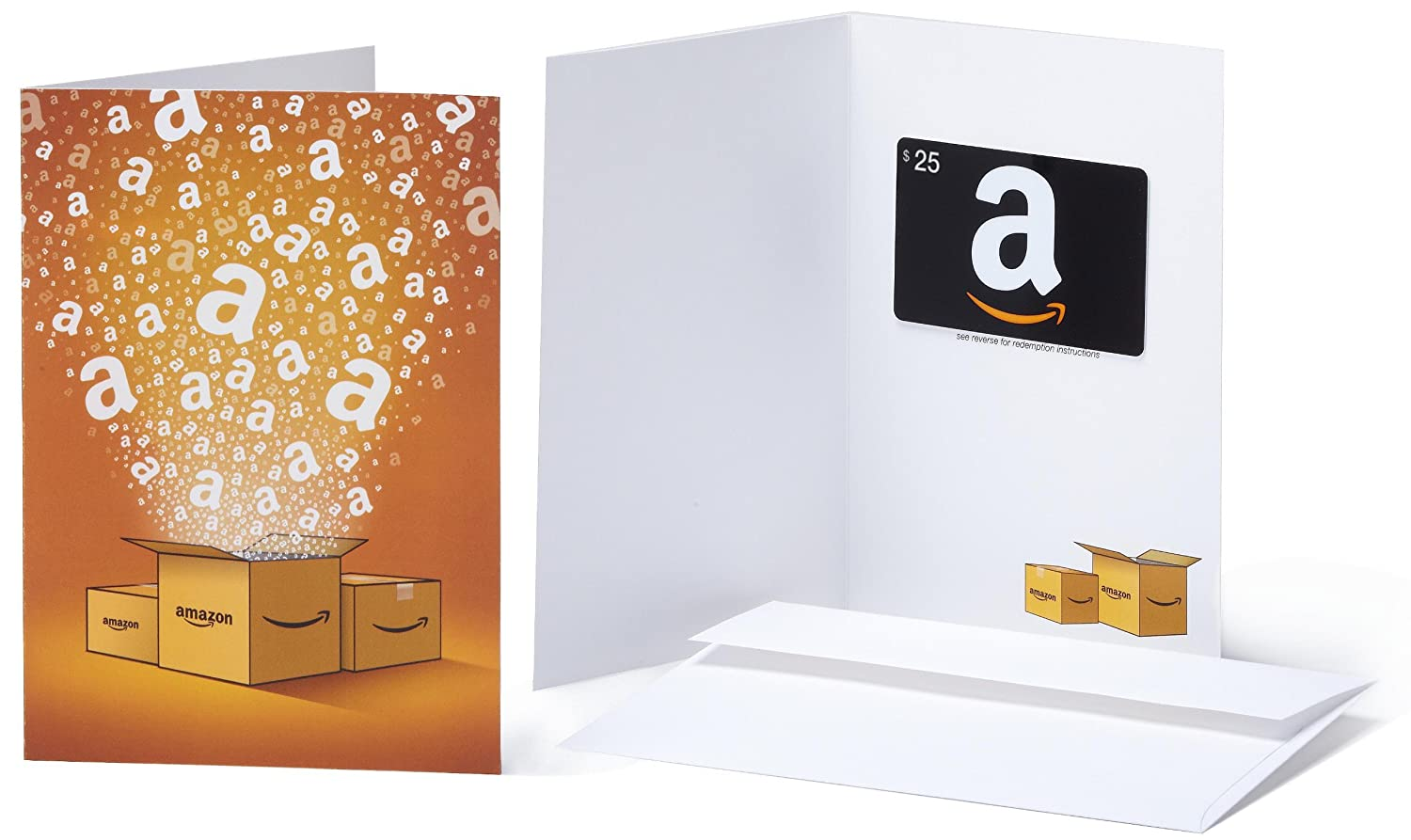Amazon.com Gift Cards - In a Greeting Card - Free One-Day Shipping
