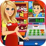 School Lunch Supermarket - Kids Grocery Food Maker Games FREE