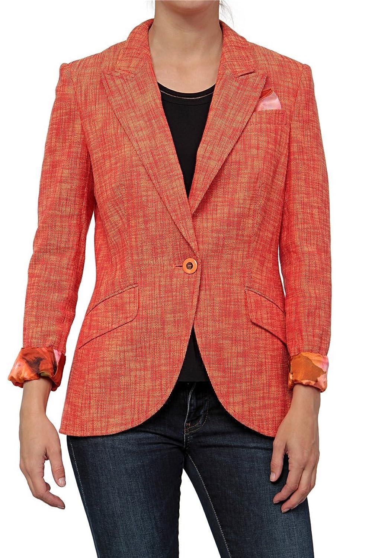Basler Damen Blazer INDIA, Farbe: Aprikot günstig kaufen