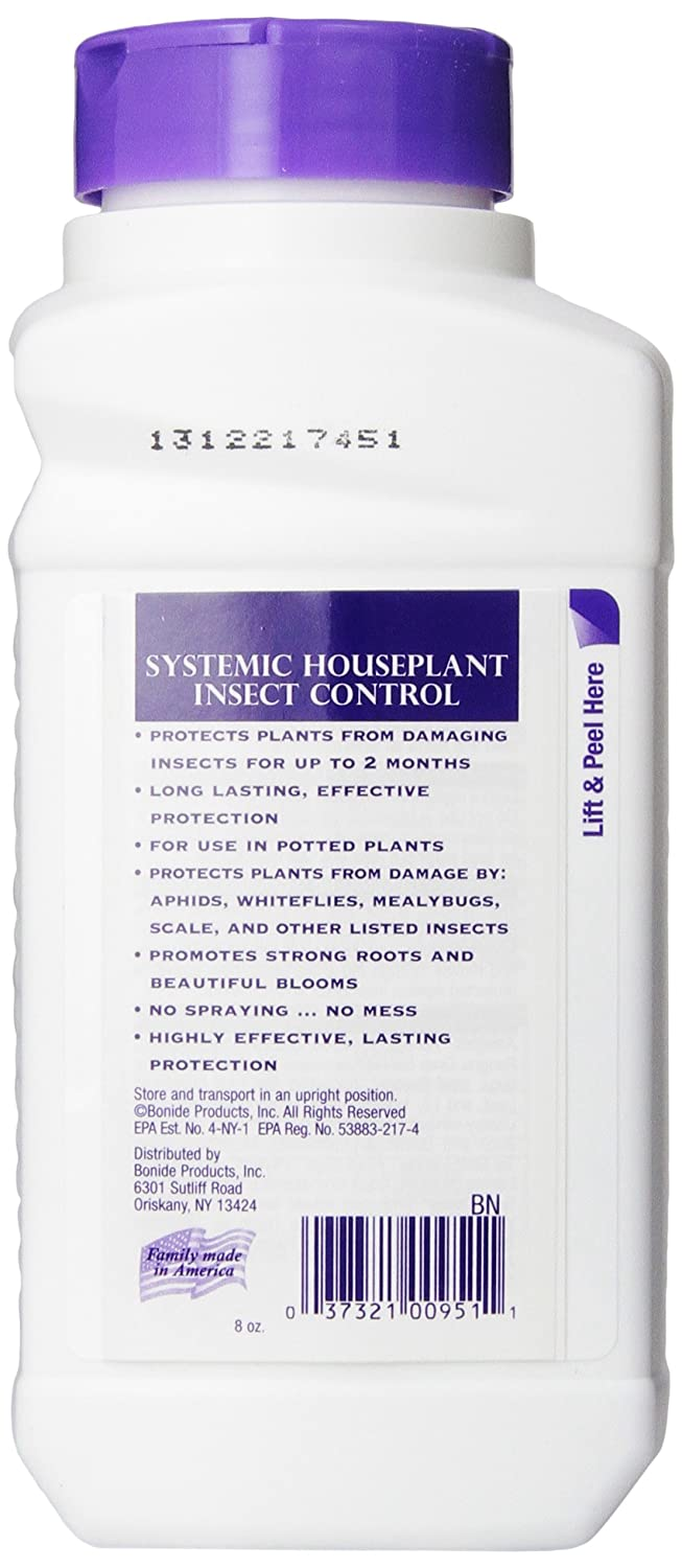 Bonide Product 951 Systemic House Plant Insect Control 8 Oz New Free Shippin Ebay