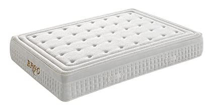 Studio Decor Ergo Matelas en mousse viscoélastique 105 x 190 cm blanc