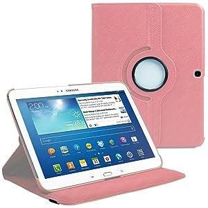 Stuff4 Cover - Funda para tablet Samsung Galaxy Tab 3 10.1 (***NO ADECUADO PARA GALAXY TAB 2 10.1 O GALAXY NOTE***), rosa  Informática revisión y más información