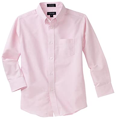 Boys Pink Dress Shirt