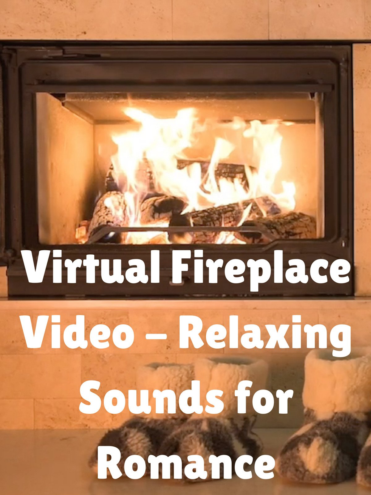 Virtual Fireplace Video on Amazon Prime Instant Video UK