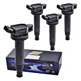 Set of 4 Herko B147 Ignition Coils For Lexus Scion Toyota 1.8L 2.0L 2.4L 02-12 (Tamaño: Set of 4)