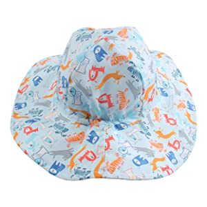 DUOYEREE Baby Boy/'s Sun Hat for Sun Protection Summer Beach Pool Toddler Hat