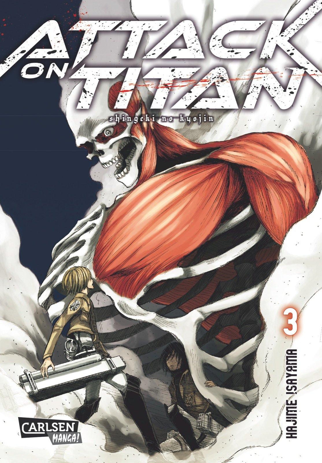 Attack on Titan, Band 3