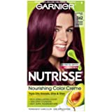 Garnier Nutrisse Nourishing Hair Color Creme, 362 Darkest Berry Burgundy (Packaging May Vary) (Color: 362 Darkest Berry Burgundy, Tamaño: 1 Count)