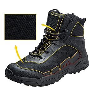 b13dec16a75 FREE SOLDIER Men's Tactical Boots 6