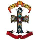 Guns n' Roses Appetite for Destruction Emblem Embroidered Patch Iron On (11.1