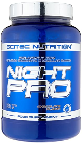 Scitec Nutrition Night pro, Chocolate Flavor, 1er Pack (1 x 900 g)