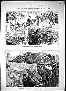4 1882 bureaux s 39 ouvrants de londres londres illustr s par reine royale de de cort ge de - Cours de cuisine londres ...