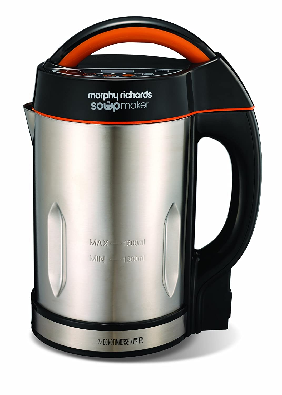 The Morphy Richards 48822 looks stylish and is one of the top soup makers on the market right now.