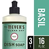 Mrs. Meyer´s Clean Day Dish Soap, Basil, 16 fl oz, 3 ct
