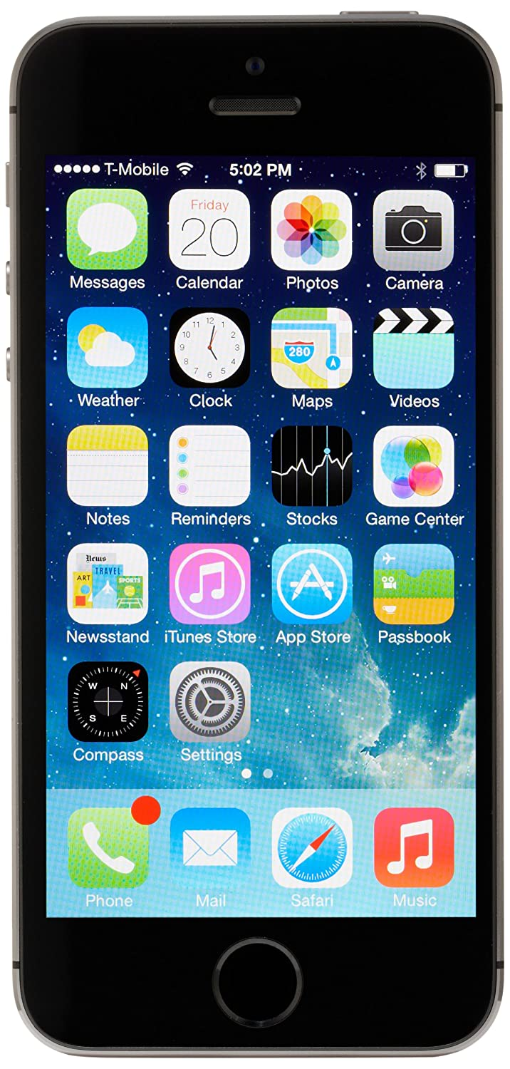 Apple iPhone 5s AT&T Cellphone, 32GB, Space Gray