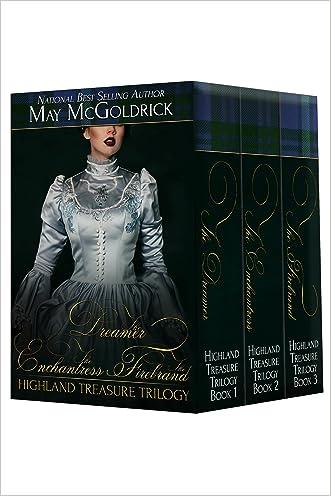 Highland Treasure Trilogy: 3-Volume Boxed Set: Dreamer, Enchantress, Firebrand: 3 complete novels