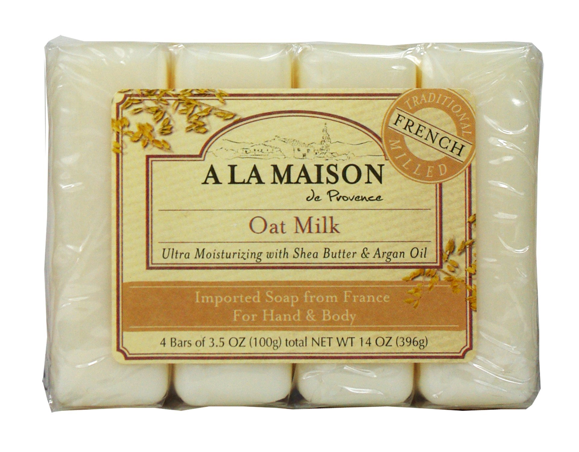 A la maison soap bars value pack oat milk 4 count ebay for A la maison soap