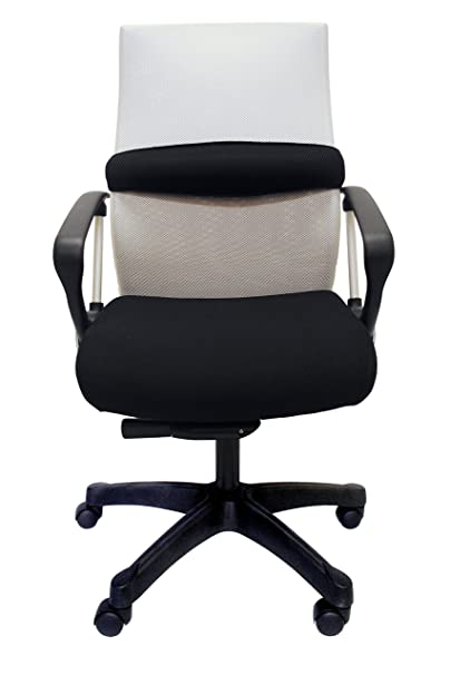 ZipAir Swivel Height Adjustable Chair, White