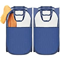 2-Pack Laundry Hamperck MaidMax Pop-Up (Blue)