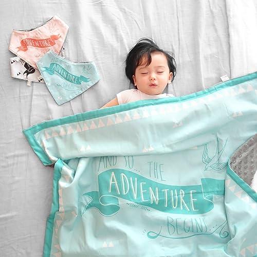 Adventure Organic Baby Blanket