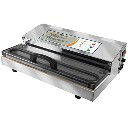 Weston 65-0201 Pro-2300 Vacuum Sealer, Silver