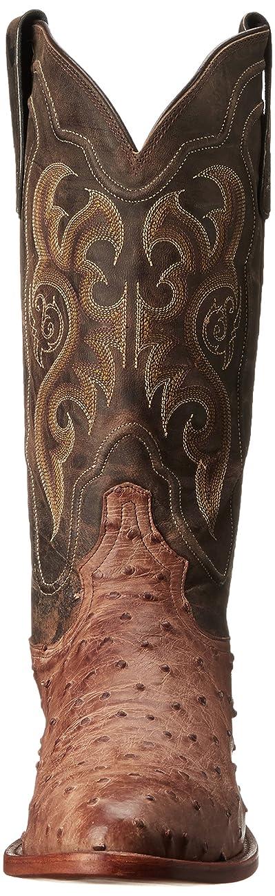 Tony Lama Boots Men's Vintage Ostrich 8965 Western Boot 1