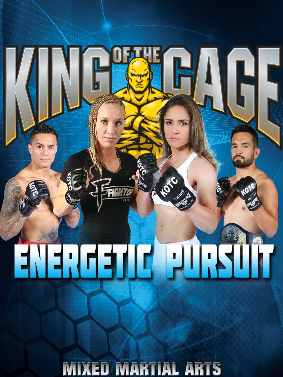 King of the Cage: Energetic Pursuit on Amazon Prime Video UK