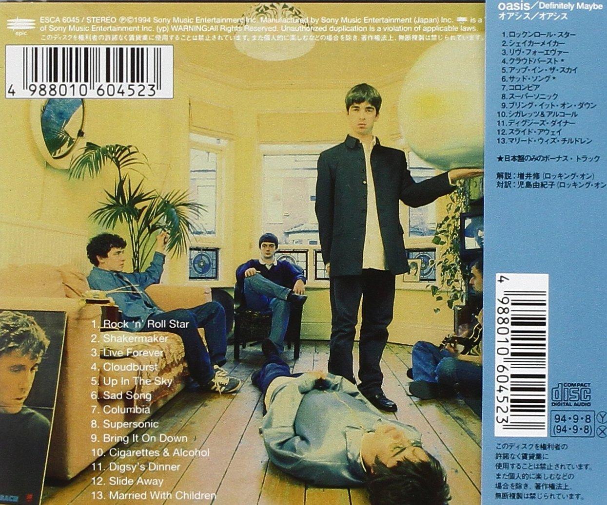 Amazon com Oasis Definitely  Oasis Definitely Maybe Deluxe