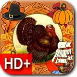 Thanksgiving Classic Live HD+ Wallpaper + Clocks