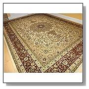 Large Persian Style Oriental Rug Cream