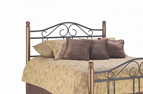 King Weston Headboard by Fashion Bed Group - Matte Black / Maple (B92666)