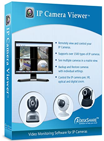 Free IP camera monitoring software views multiple cameras [Download]