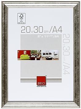 brio 34067 cadre cadre photo circ e argent a4 20 x 30 cm cuisine maison z93. Black Bedroom Furniture Sets. Home Design Ideas