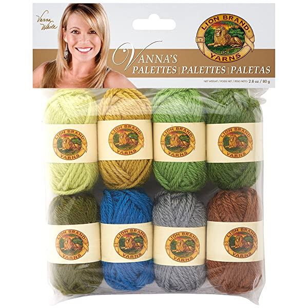 Lion Brand Yarn 865-207 Vanna's Palettes Yarn, Spirited