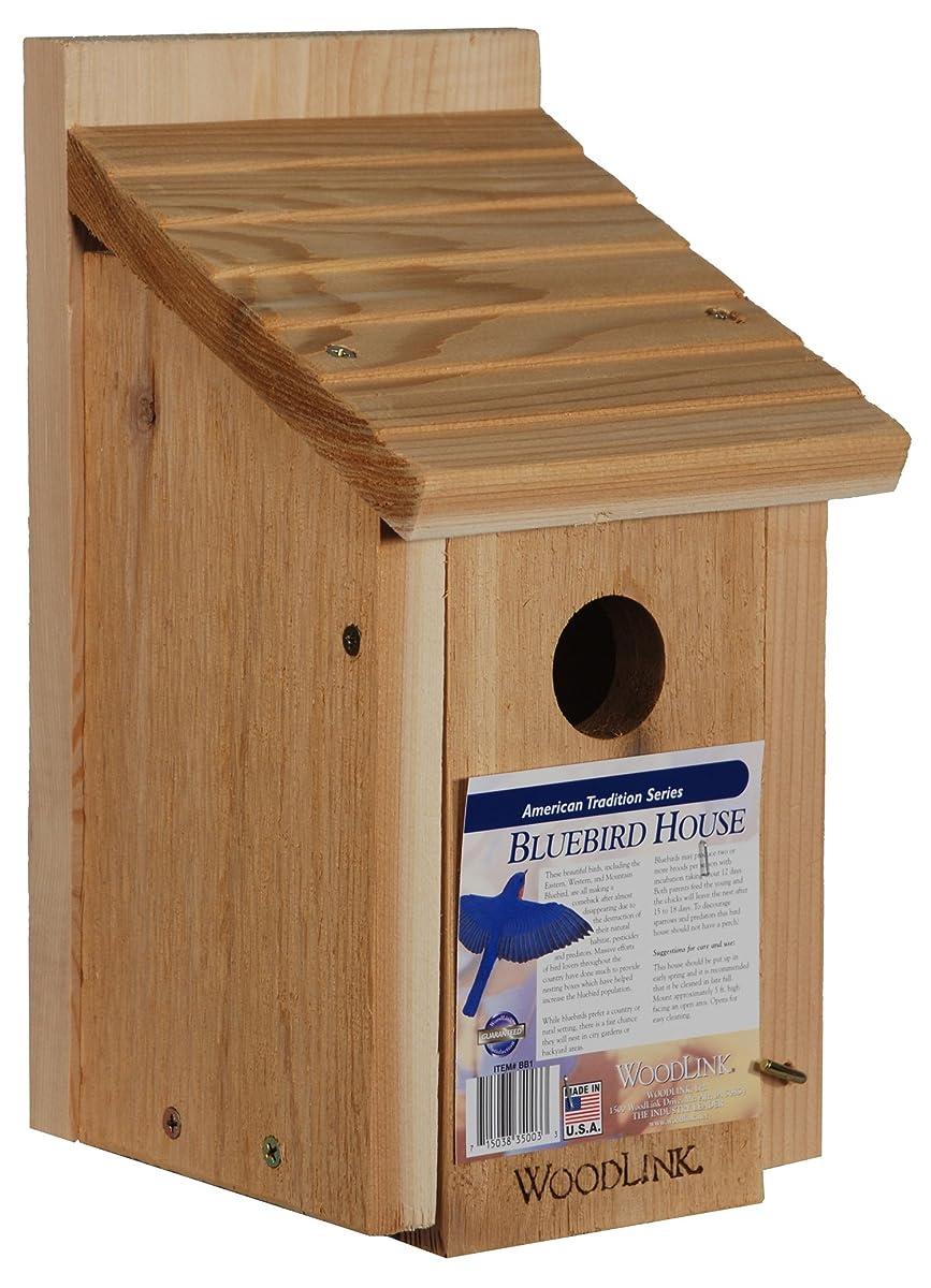 Woodlink Wooden Bluebird House - Model BB1