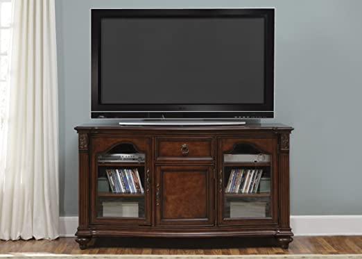 Tiffany II TV Console - Cherry