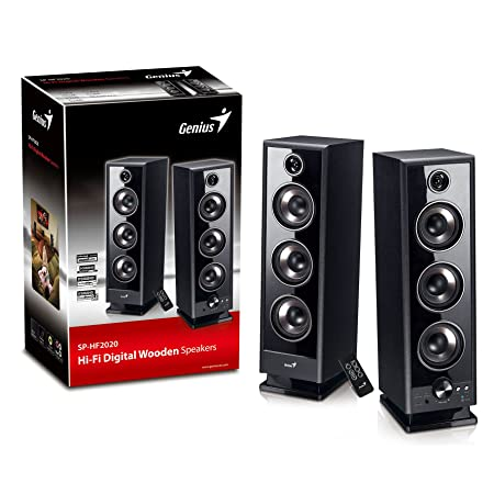 Genius SP-HF2020 Black Enceintes PC / Stations MP3 RMS 30 W