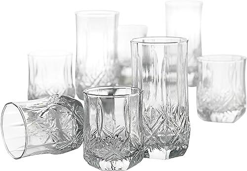 Luminarc Brighton 16Pc. Glassware Set