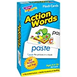 TREND enterprises, Inc. Action Words Skill Drill Flash Cards (Tamaño: 3 X 6 in)
