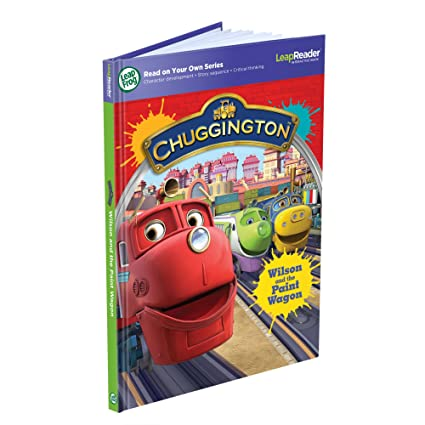 AmazonSmile: LeapFrog LeapReader Book: Chuggington: Wilson and the Paint Wagon (works with Tag): Toys & Games