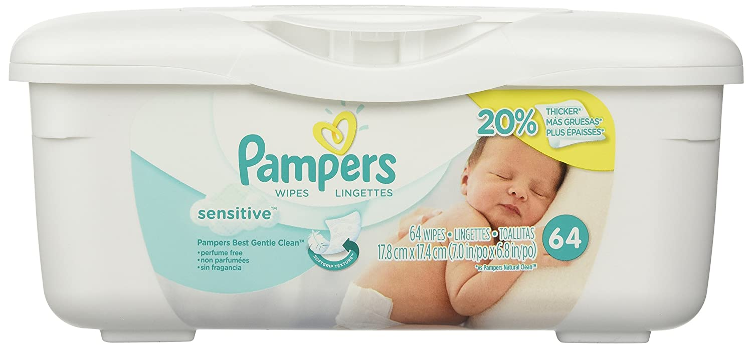 Pampers NATURAL ALOE Baby Wipes None Perfume-Free; Case of 8, 72 COUNT product ; Options available. See drop down menu for additional information. For additional questions, please speak with one of our helpful Product Consultants at - or click the 'Live Chat' button.