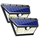 InnoGear 42 LED Solar Lights Outdoor with Wide Lighting Area Wireless Motion Sensor Security Night Light Wall Sconce Lamp Waterproof for Front Door Back Yard Driveway Garage Patio and Garden (Color: Black, Tamaño: 42 LED)