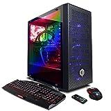 CyberpowerPC SLC8760CPG Gamer Supreme Liquid Cool Tower Desktop with i7-8700K, 16GB, GTX 1070 8GB, 120GB SSD, 2TB HDD, Wi-Fi, Win 10, black (Color: black)
