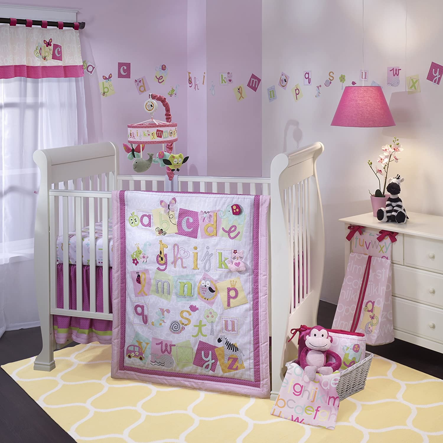 Lambs and Ivy Sweet ABC Baby Bedding