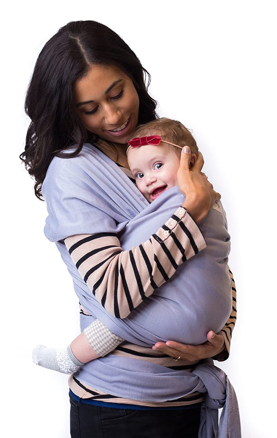 606baeb1a04 Best Baby Carrier Sling Wrap for Moms - Original Grey Cotton Quality  Material - Comfortable