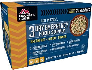 Mountain House 3-Day Food Supply