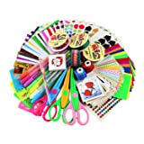 SICOHOME Scrapbooking Supplies,Scrapbook Kit for Teen Girls Scrapbooking and Card Making (Color: Starter Set)