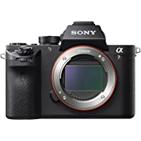 Sony Alpha a7RII 42.4MP Full HD 1080p Wi-Fi Mirrorless Digital Camera Body (Black)