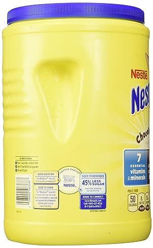 Nestle Nesquik Chocolate Powder 41.9 oz (Tamaño: 41.9 Ounce)